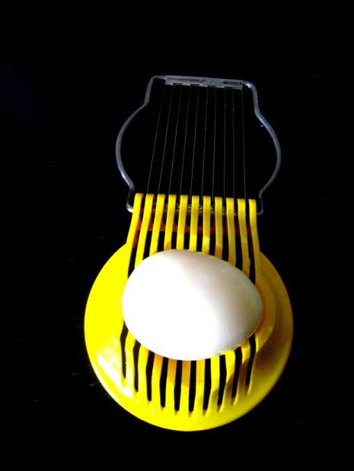 An egg slicer from IKEA